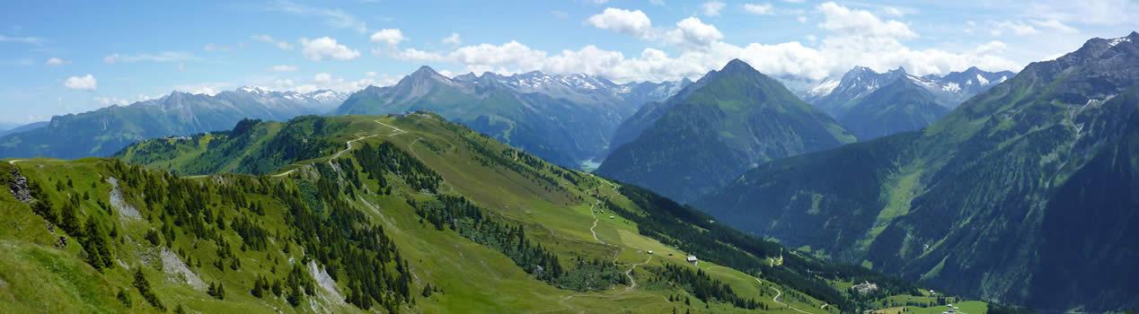 Die beeindruckende Bergwelt