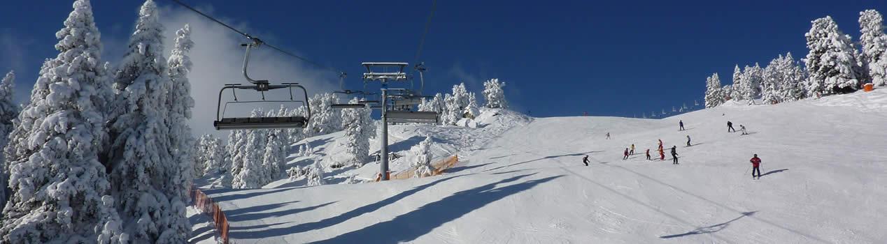 Die Skigebiete des Zillertals